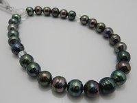 黒蝶念珠 9.0〜9.9 mm 正絹房カスタマイズ 本水晶使用 高級桐箱付き