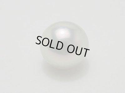 画像1: アコヤ真珠最大級 10.0 mm 巻き厚 1.00 mm 最高品質 「オーロラ ・ 真多麻」 K18WG ペンダント