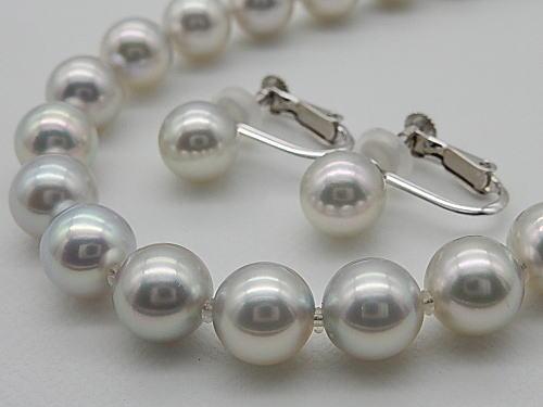 画像1: ブルー系アコヤ真珠「オーロラ・真多麻」 最高品質鑑別鑑定書付き
