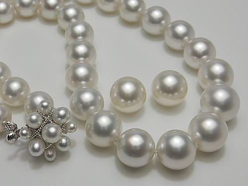 画像1: ROYAL WHITE PEARL SET